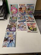 Lot Of 10 Doc Mcstuffins And Sofia The First Disney Dvds All But 1 Sealed