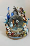 Disney Snowglobe It All Started With A Mouse Music Zipa Dee Dadoh - Rare