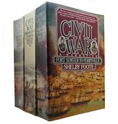 Shelby Foote The Civil War A Narrative In 3 Volumes Fort Sumter To Perryville
