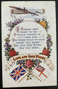 1915 England Picture Postcard Cover Early Aviation I Could Only Plane To You