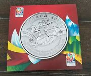 2013 Canada Uncirculated Silver 20 Coin By Royal Canadian Mint Santa