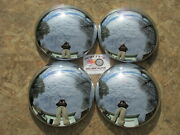 10 1/4 Baby Moon Hubcaps Set Of 4 Great Shine Brand New In Box