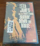 Etta James And The Roots Band Burnin' Down The House Dvd Concert