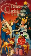 A Disney Christmas Gift - Vhs, 1996 - New Factory Sealed Oop Vintage