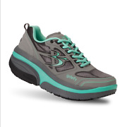 Gravity Defyer Womenand039s Gdefy Ion Athletic Shoes Grey And Teal