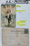 1908 Batavia Ny Usa Picture Postcard Cover Early Aviation In Heaven Yes By Jove