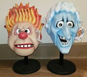 The Year Without A Santa Claus Trick Or Treat Studios Snow And Heat Miser Masks