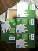 Lot Of 4 Philips 100 Mini Clear Christmas Lights White Wire Wedding Patio Craft
