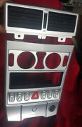 Chrysler Crossfire A/c Heater Climate Control Panel Trim Bezel Radio Switches