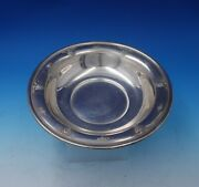 Rose Point By Wallace Sterling Silver Fruit Bowl 8.6 Ozt. 4640-9 5116