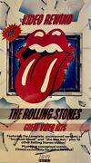 The Rolling Stones - Video Rewind Greatest Video Hits Vhs - New