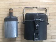 Wwii Swiss Army Mess Kit Groninger 1940 / M32 Canteen + Cup Sigg 1940 3