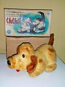 Vintage Alps Sniffy Dog Toy Battery Operated 60's In Original Box Very 1st Japan