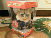 Vtg Nib 2000 Rare Special Limited Edition Furby For The President W Pins And Flag