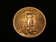 Rare 1924 20 St Gaudens 90 Solid Gold Crcg Mint 65