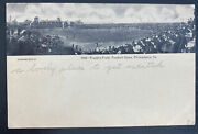 Mint Usa Real Picture Postcard Franklin Field Football Game Philadelphia Pa
