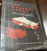 The Masonry House Construction Industry Engineered House Lee Frankl 1950