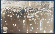Mint Usa Real Picture Postcard Political President Taft And Shanklin 1909