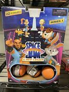 Space Jam A New Legacy Series 1 Full Case Of 24 Basketballs Blind Mini Figures