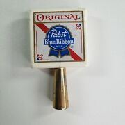 Original Pabst Blue Ribbon Tap Handle 4.5 Inches