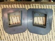 1969 Buick Gran Sport Gs Gs350 Gs400 Stage 1 Ram Air Hood Louver Back Plates Vgc