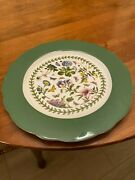 Portmeirion Botanic Garden 13 Inch Charger Plates - Nib - Price Is For 7 Plates