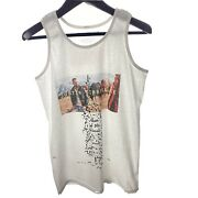 Justin Timberlake M White Man Of The Woods Tour T-shirt Tank Top Double Sided