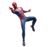 New Video Game Masterpiece Marvel's Spider-man Advanced Suit Action Figure