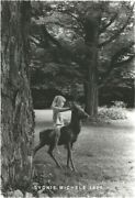 Evocative B/w Photo Of Child At Fantasy Play 8x10 Dkrm Print Signed Original