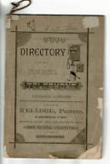Official Directory Of The Providence Telephone Exchange Company / 1880 Americana