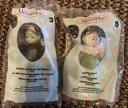 Lot Of 2 Mcdonald's 2007 Madame Alexander Wizard Of Oz Dolls 3 And8 New In Bag