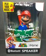 Charles Martinet Signed Mario Ihome Bluetooth Speaker Psa 9a33595