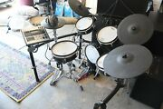 Roland Td-20s V-pro Electric Drum Kit With Stand - Original Owner