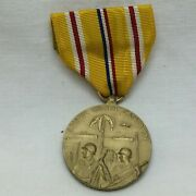 Vintage Wwii Asiatic Pacific Campaign Medal