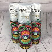 Lot Of 3 Starbucks Pike Place Roast Limited Edition Coffee Stories Whole Bean