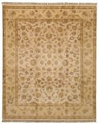 Vintage Hand-knotted Carpet 8and0391 X 10and0390 Traditional Oriental Wool Area Rug