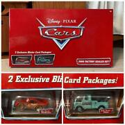 Disney Pixar Cars 2006 Factory Sealed Set 1 Of 500 New From Japan T263