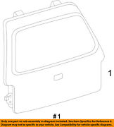 Ford Oem 09-14 Expedition-liftgate Tailgate Hatch Panel Skin 9l1z7840010b