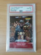 2016 Panini Instant Nba Finals 15 Lebron James Cleveland Psa 10 Numbered 1/361