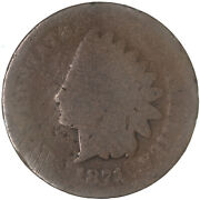 1871 Indian Head Cent About Good Penny Ag See Pics G735