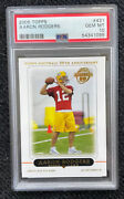 2005 Topps Aaron Rodgers Green Bay Packers 431 Football Card