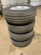 Used Original 17 Inch Rims And Tires For Jeep Wrangler Sahara Unlimited Mojave