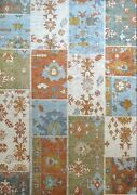 Amazing Antique - Modern Contemporary Patch Rug - Turkish Carpet - 6.7 X 9.2 Ft.