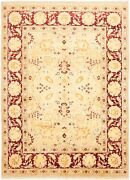 Hand-knotted Carpet 9'1 X 12'5 Traditional Vintage Wool Rug...discounted
