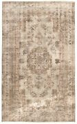 Vintage Hand-knotted Carpet 6and0391 X 10and0392 Traditional Oriental Wool Area Rug