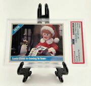 Paul Coker Jr Signed Santa Claus Is Coming To Town Card Psa/dna Encapsulated
