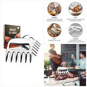 Meat Bear Claws Bbq Meat Carving Fork For Pulled Pork Shredding Stainless Stee
