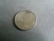 Canada 25 Cents Silver Coin With Moose Caribou 2006 Great Condition