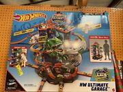New Hot Wheels City Robo T-rex Ultimate Garage Multi-level And Play Mode Park 100