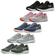 Under Armour Ladies Charged Pursuit 2 Trainers Ua Gym Running Walking Shoes